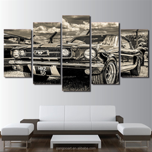 Modular HD Print Artwork Modern Sports Car Poster Home Decor Wall Art 5 Pieces Pictures