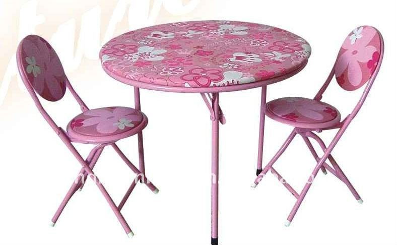 beauty child table and chair