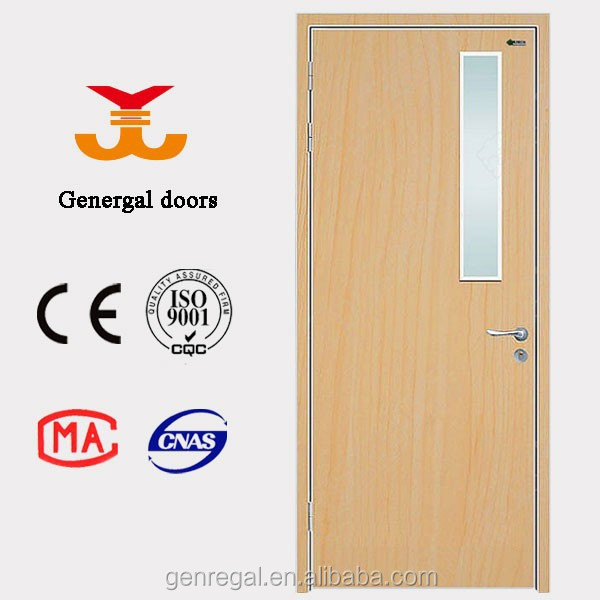 High quality solid wood classroom door