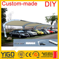 design carport/steel frame/single car garage