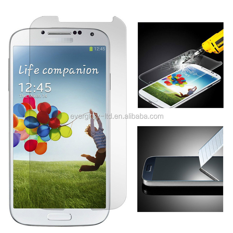 Real Tempered Glass Screen Protector For Samsung Galaxy S4 i9500 ,i9505