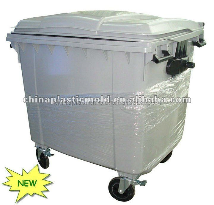 1100l garbage can covers and garbage bin