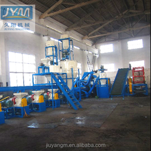 High Capacity Waste Tire Recycling Line Rubber Materials Shredder Machine