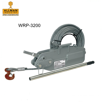 3.2t hand operated wire rope lever hoist puller