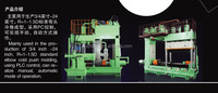 Pipe elbow forming machine