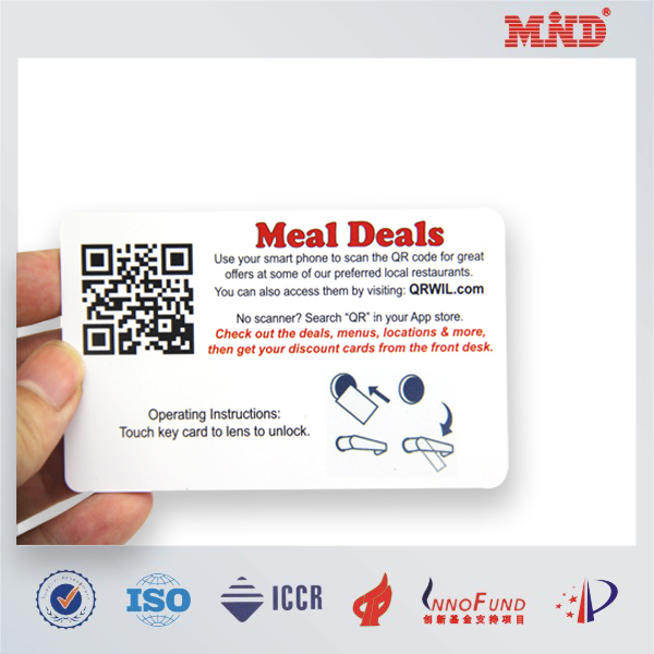 MDC0866 big promotion rfid key card contactless smart card 13.56Mhz