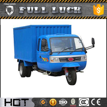 Hot sell 3 wheel motorcycle in malaysia with full cab and cargo box