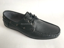 Chinese factory laest design men leather shoes & dress shoes