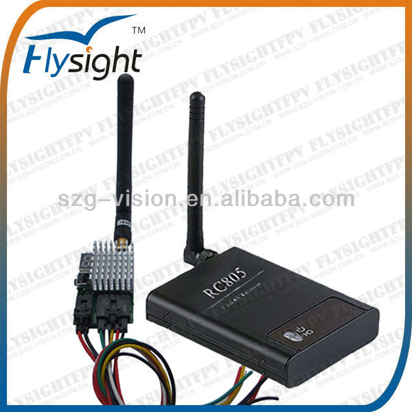 C500 5.8ghz 400mw wireless DJI S800 evo a2 iosd image voice transmitter receiver for helicopter rc big