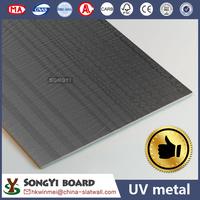 Metal UV MDF Board/UV Fibersboard For Furniture Indoor