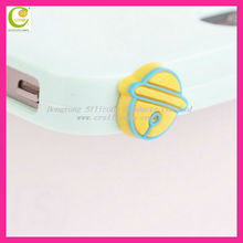 Silicone animal shape plug dustproof with tools wiping screen,mobile phone ear cap for iphone4/5/custom earphone jack plug