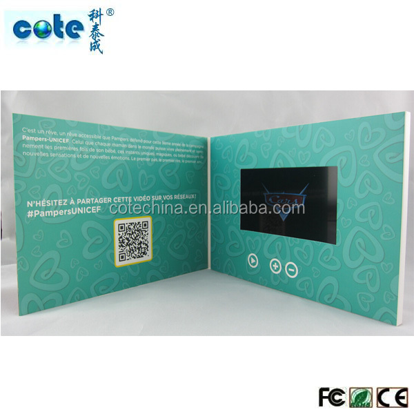 New ideas 2015 TFT screen video card with 4C printing