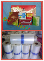 POF plastic film packaging material for food