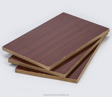 18mm Melamine coated MDF board/ Raw MDF panel / plain mdf e0 e1 e2 grade fsc board