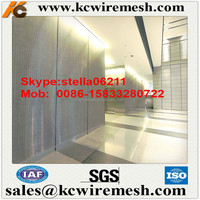 Factory!!!!! Kangchen Best selling Curtain wall net ,stainless steel ceiling titles with good quality