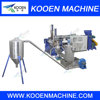 PE PP pelletizing line recycling granulating production line