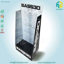 Cardboard PDQ corrugated display for Necessities