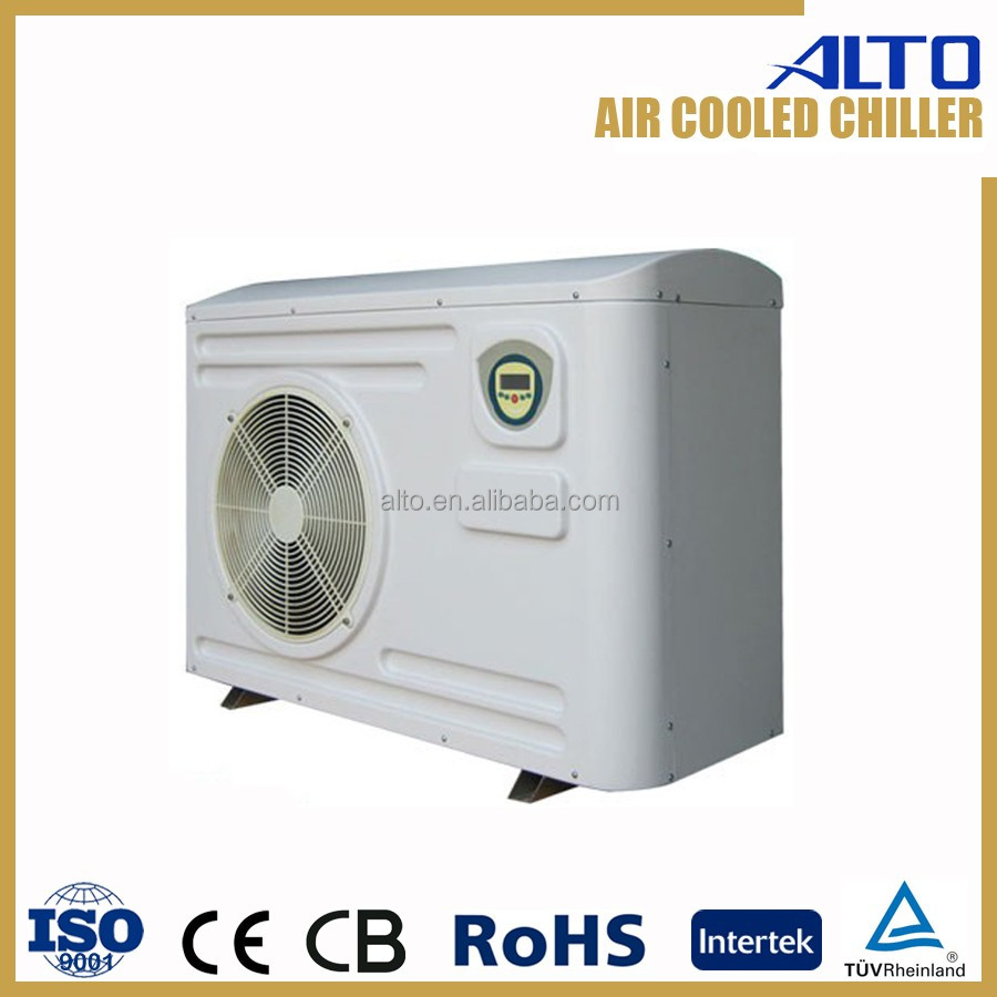 Alto air cooled small water chiller unit 8.5kw 3ph 400v CE RoHS
