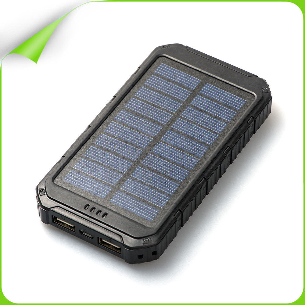 New product solar power bank charger, universal portable power bank 8000mAh solar mobile charger for digital products