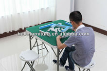 mahjong table, foldable mahjong table, plastic mahjong table