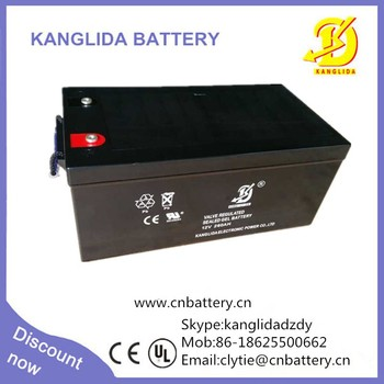 rechargeable 12v 250ah Deep cycle Battery made in China, 250ah solar battery