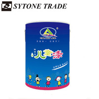 Water based environmental odorless Anti-yellowing Interior wall paint for children