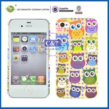 C&T protective sublimation case for iphone 4