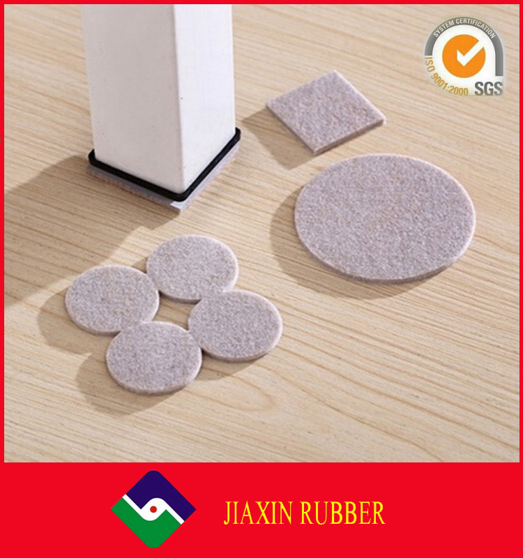 Heavy Duty Extra Adhesive Felt Furniture Pad Pack Felt Chair Pads for Wood and Laminate Floors - Adhesive Felt Furniture Pad