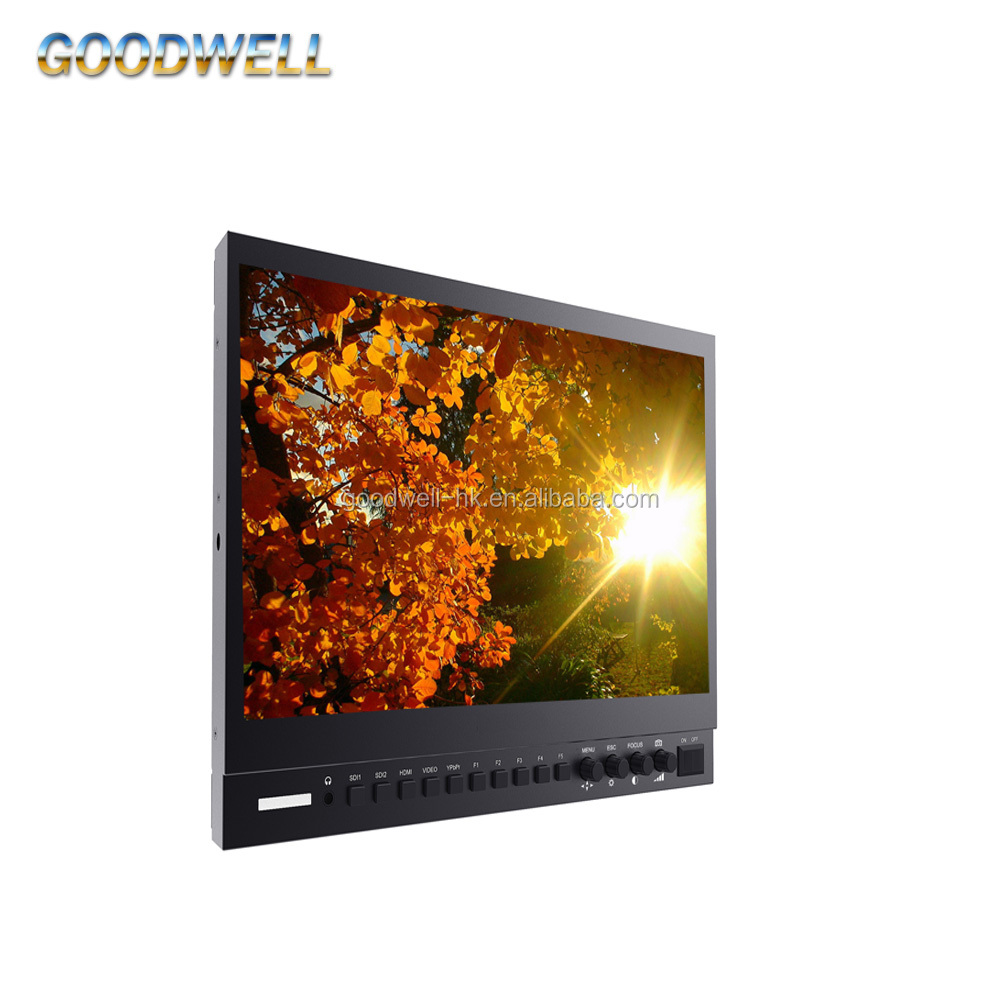 "Top Quality Broadcast 13.3"" 3G-SDI/ HD Wave Monitor with IPS FHD 1920x1080 Waveform Vector Scope"