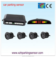 LED Wireless Car Parking Sensor Backup Reverse Rear View Radar Alert Alarm System with 4 Sensors.