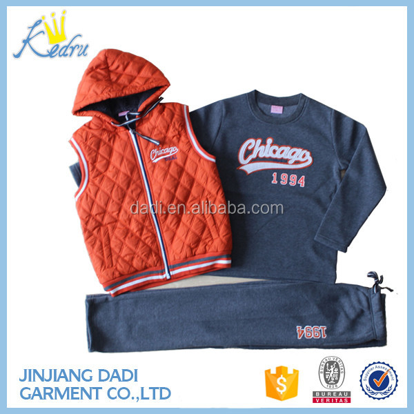 Jinjiang Designer Kids Sports Clothes For Sale