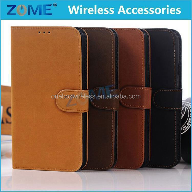 Shenzhen Mobile Phone Pu Leather Slim Protective Folio Wallet Stand Case Cover For Samsung Mega 5.8 I9108 I9152