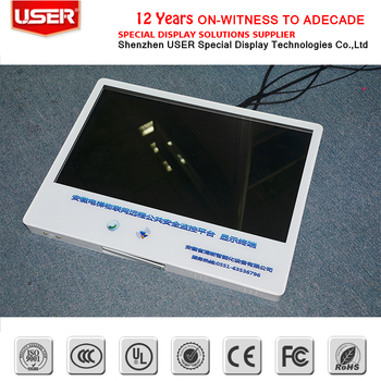narrow boarder ultra thin lcd monitor with touch screen lcd display