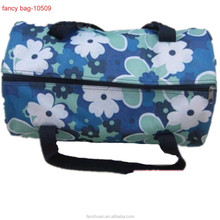 Duffel Full Color Printed Solar Powered Cooler Bag