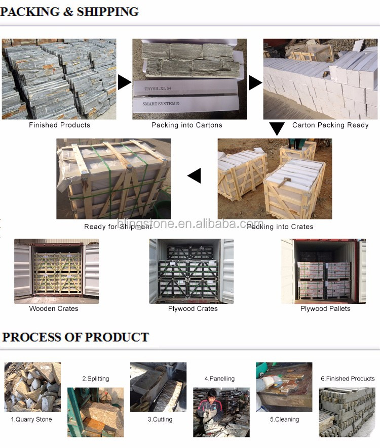 Culture Stone Decorative Panel Nature Exterior Wall Stone