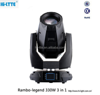 Brand new 2016 wholesale beam/spot/wash 3 in 1 moving head light / 100% 330w clay paky dj disco wedding Light from Hi-Ltte