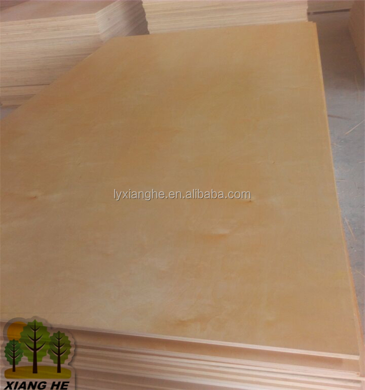B/4 Grade Birch Plywood Red Hardwood Back to USA Market