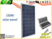 LED street lighting 150w industry price solar cells