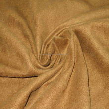 brushed upholstery 100 polyester faux suede fabric for sofa or shoe