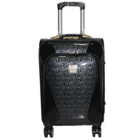 Pu 4pcs Fashion 4 Wheels Luggage