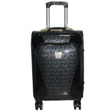 pu 4pcs fashion 4 wheels luggage sets