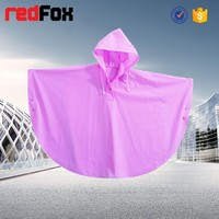 cheap wholesale children rain poncho with logo