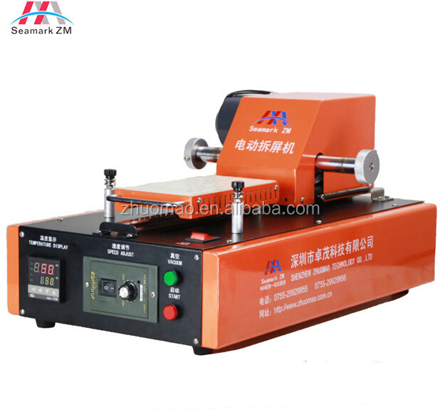 professional automatic vacuum lcd repair machine with pump inside ZM-r102 lcd separator machine for Samsung iphone