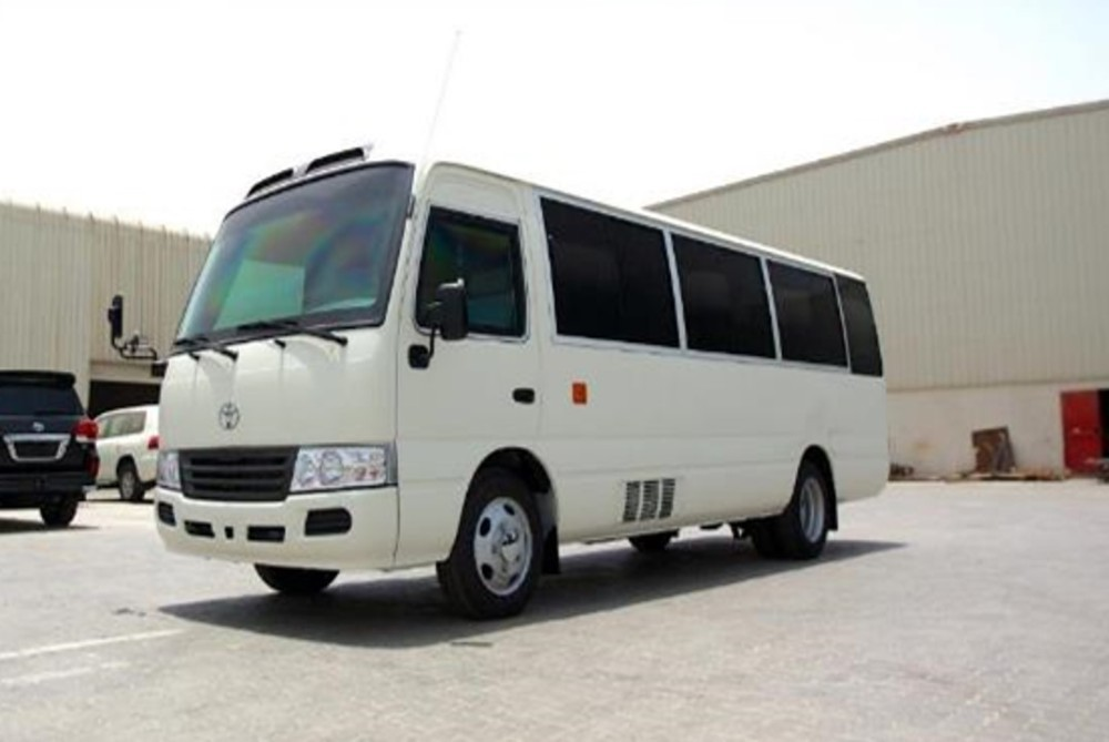 B6 Armored Toyota Coaster Bus