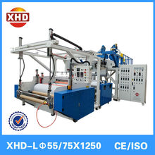 Double screw pellet lldpe stretch film making machine