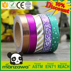 Free samples low price double sided water soluble tape outdoor self adhesive rice tape paper tape green adhesive