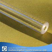 JD Thick Wall Fire Resistant Quartz Glass Fused Silica Tube