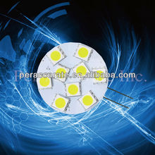 CE RoHS Car Auto Board LED 220V 5050 9 SMD G4 Light Lamp Bulb Interior Indoor Instrument Light