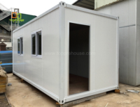 Build a economic container house for prefab sandwich panel mobile folding office homes cabin
