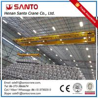 High Efficient Double Girder Overhead Scrap Magnet Crane Low Cost